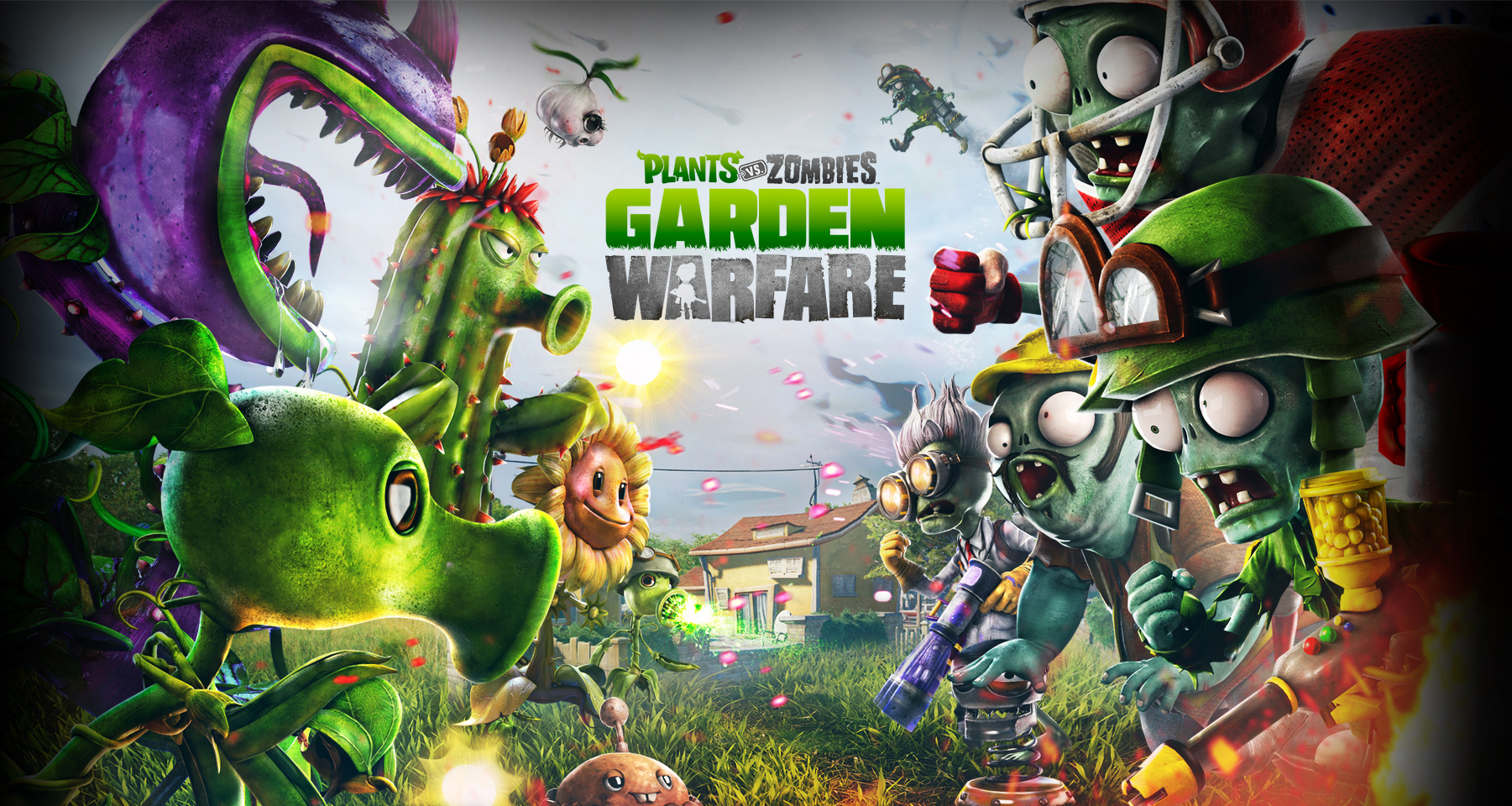 Plants Vs Zombies Garden Warfare Xbox One Plants Vs Zombies Garden Warfare Xbox One Review Any